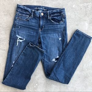 American Eagle super stretch skinny jeans sz 8
